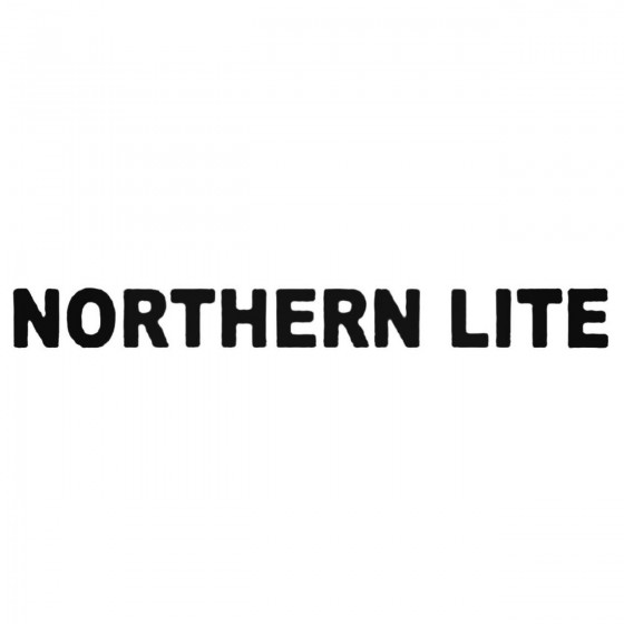 Northern Lite Band Decal...