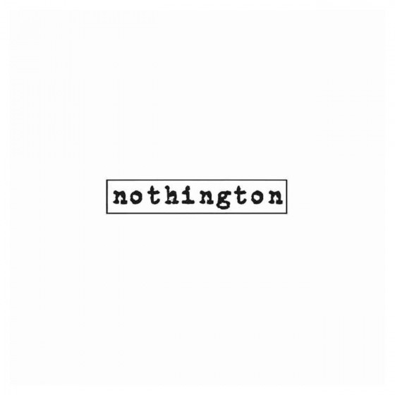 Nothington Band Decal Sticker
