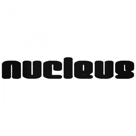 Nucleus Band Decal Sticker