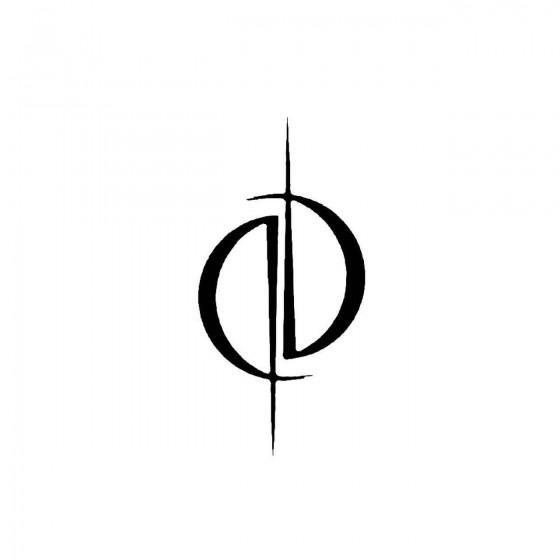 O 2band Logo Vinyl Decal