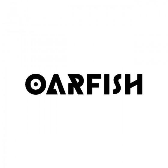 Oarfishband Logo Vinyl Decal