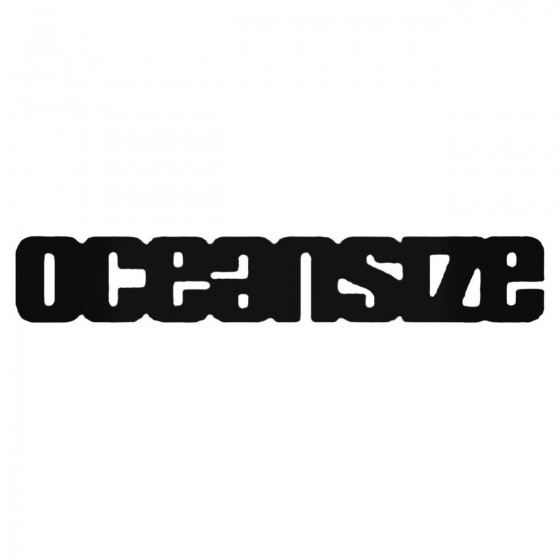 Oceansize Band Decal Sticker