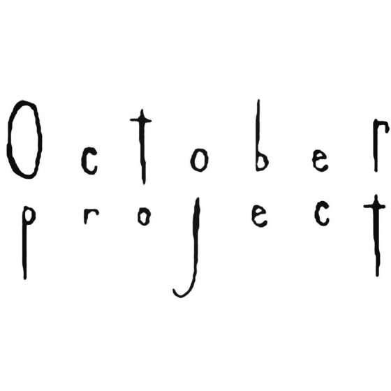 October Project Band Decal...