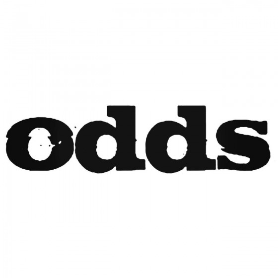 Odds Rock Logo Decal Band...