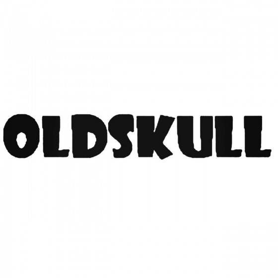 Oldskull Ven Band Decal...