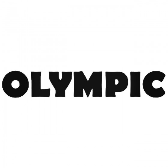 Olympic Band Decal Sticker
