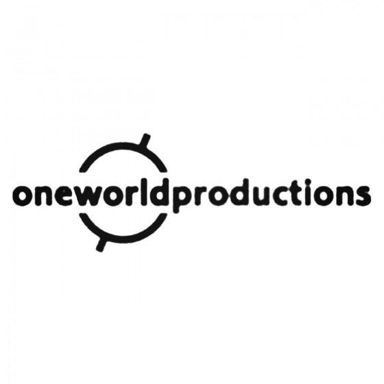 One World Productions Ltd...