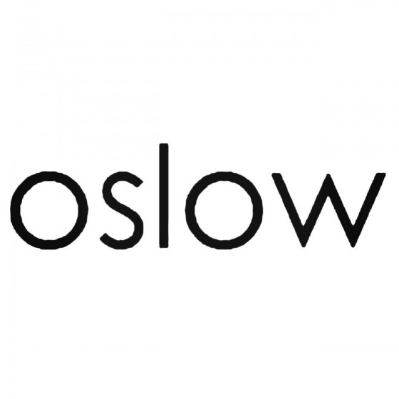 Oslow Band Decal Sticker