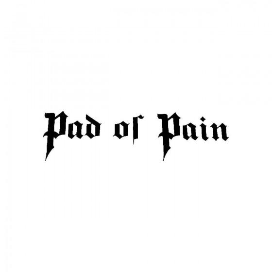 Pad Of Painband Logo Vinyl...