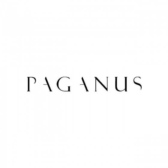 Paganusband Logo Vinyl Decal
