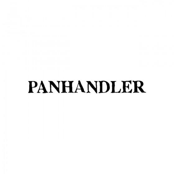 Panhandlerband Logo Vinyl...