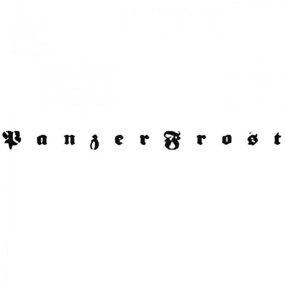 Panzerfrost Esp Band Decal...