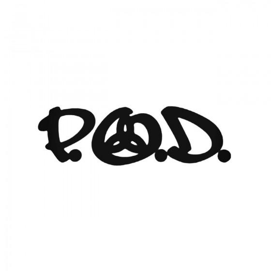 P O D Decal Sticker