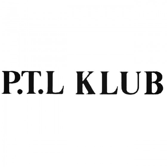 Ptl Klub Band Decal Sticker