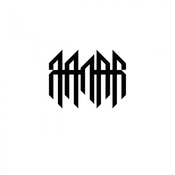 Qaanaaqband Logo Vinyl Decal