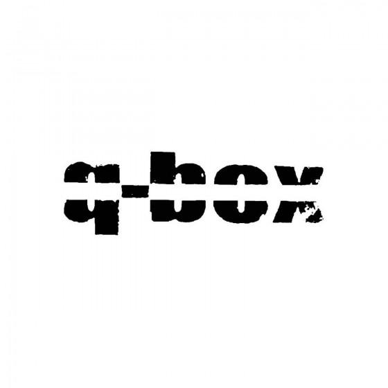 Q Boxband Logo Vinyl Decal
