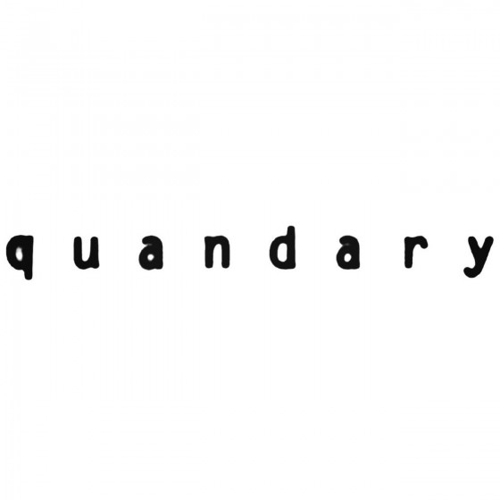 Quandary Aus Band Decal...