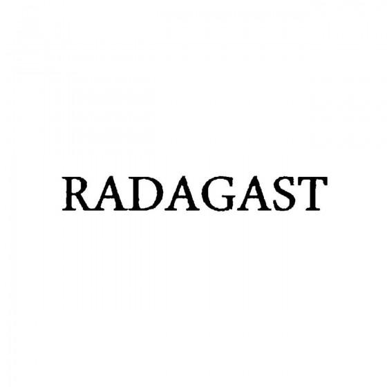 Radagastband Logo Vinyl Decal