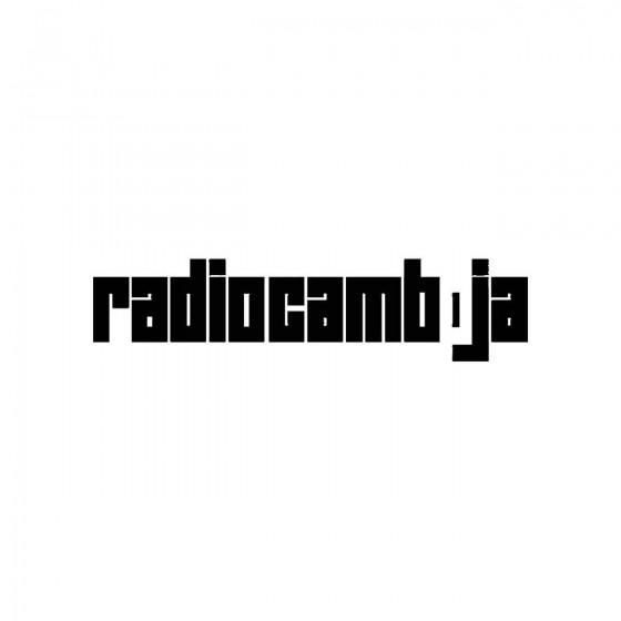 Radiocambojaband Logo Vinyl...