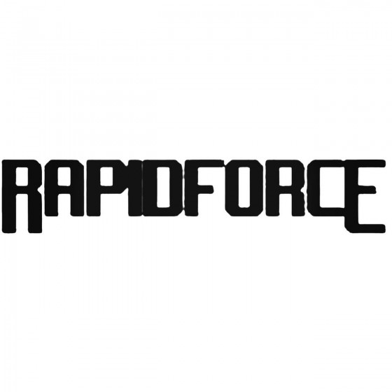 Rapidforce Band Decal Sticker