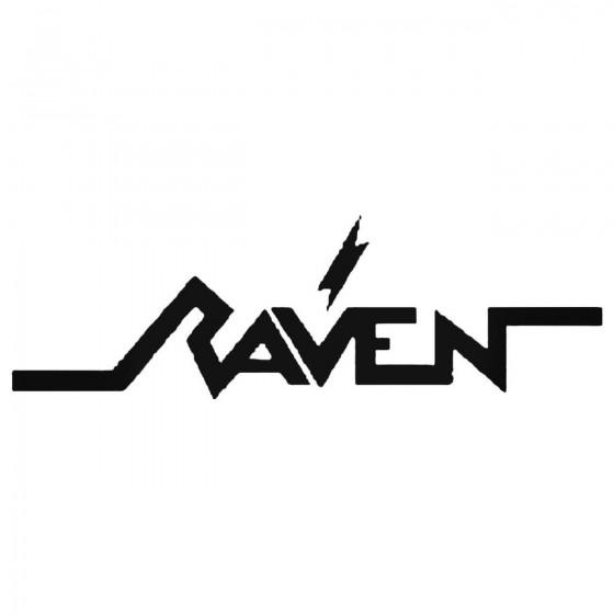 Raven Band Decal Sticker