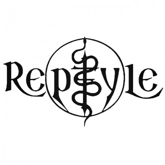 Reptyle Band Decal Sticker