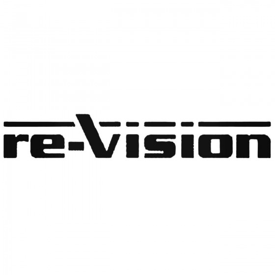 Re Vision Band Decal Sticker