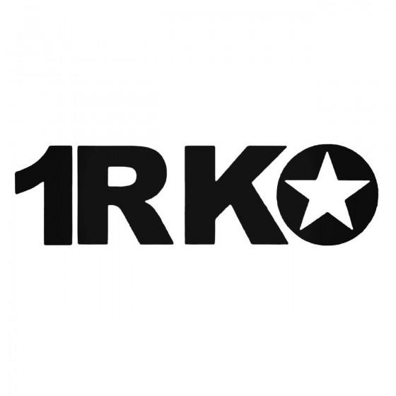 Rko Band Decal Sticker