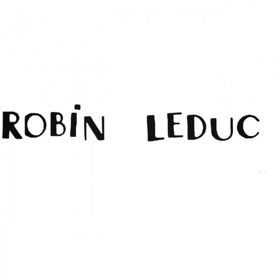 Robin Leduc Band Decal Sticker