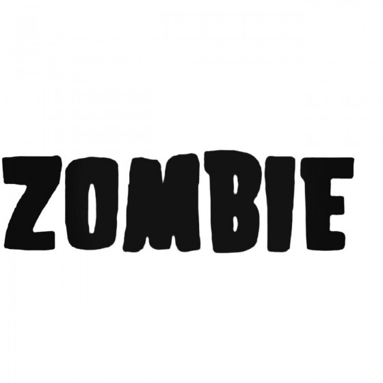 Rob Zombie Band Decal Sticker
