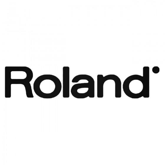 Roland 3 Decal Sticker