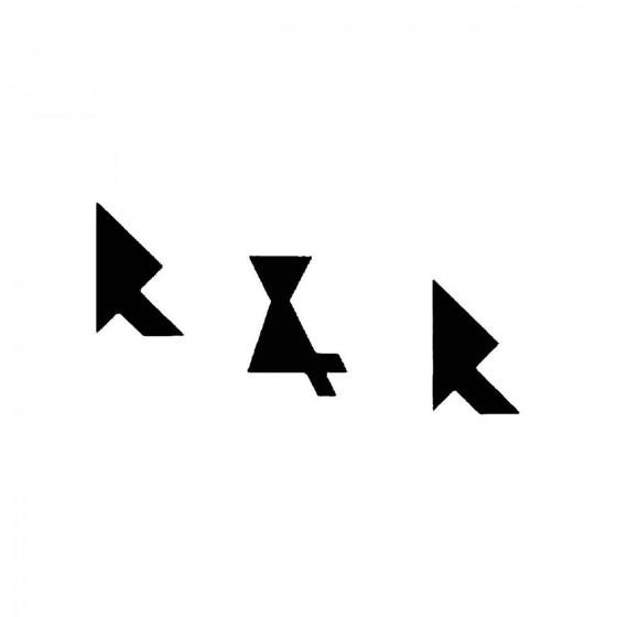 R Rband Logo Vinyl Decal