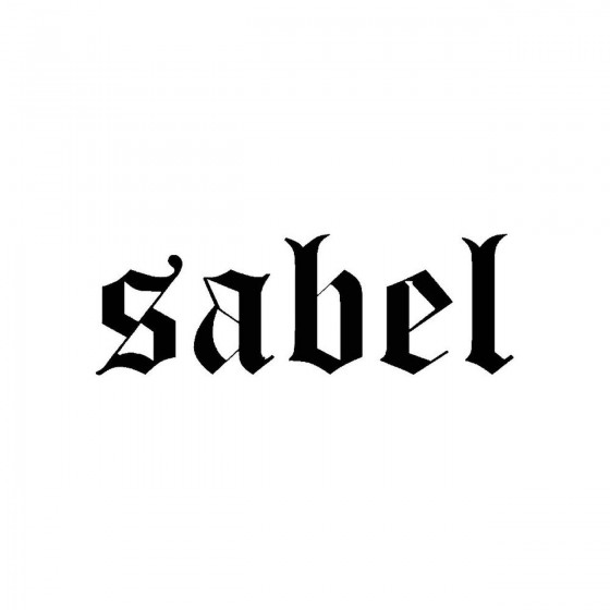 Sabelband Logo Vinyl Decal