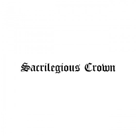 Sacrilegious Crownband Logo...