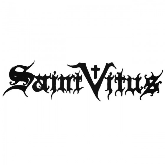 Saint Vitus Band Decal Sticker