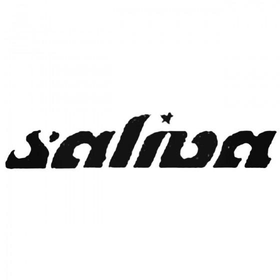 Saliva Band Decal Sticker