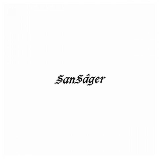 Sansager Band Decal Sticker
