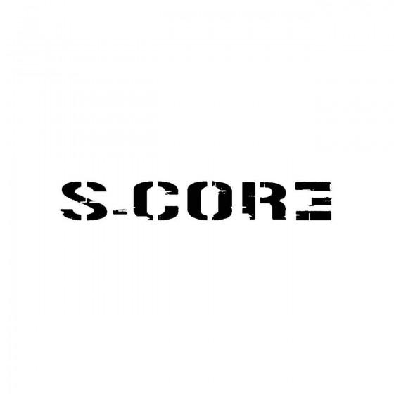 S Coreband Logo Vinyl Decal