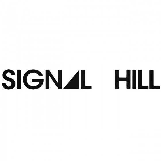 Signal Hill Band Decal Sticker