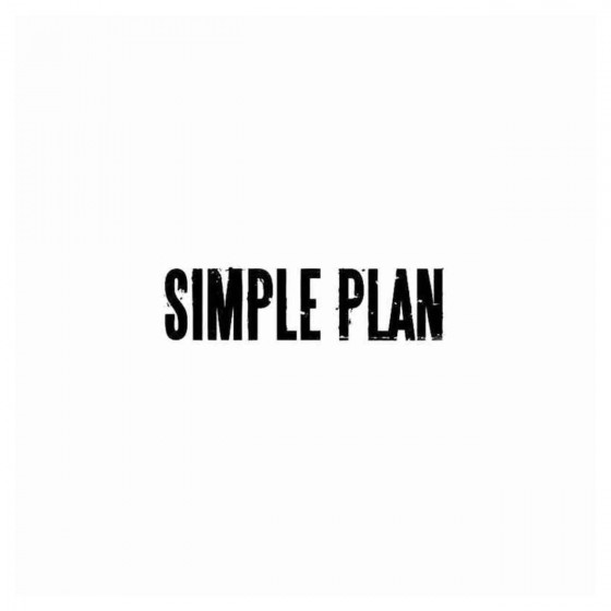 Simple Plan Band Decal Sticker