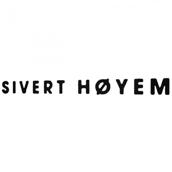 Sivert Hoyem Band Decal...