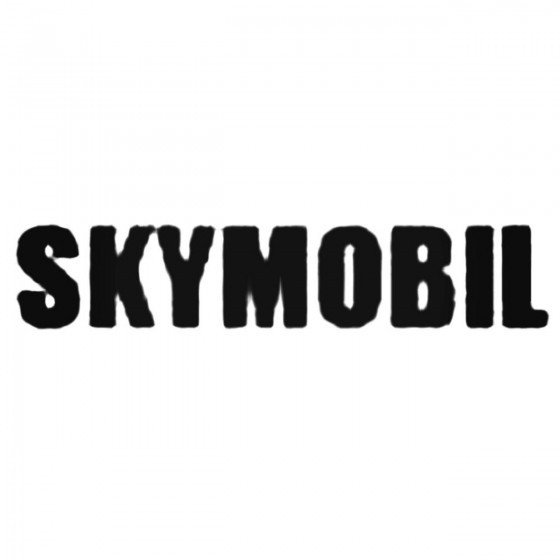 Skymobil Band Decal Sticker