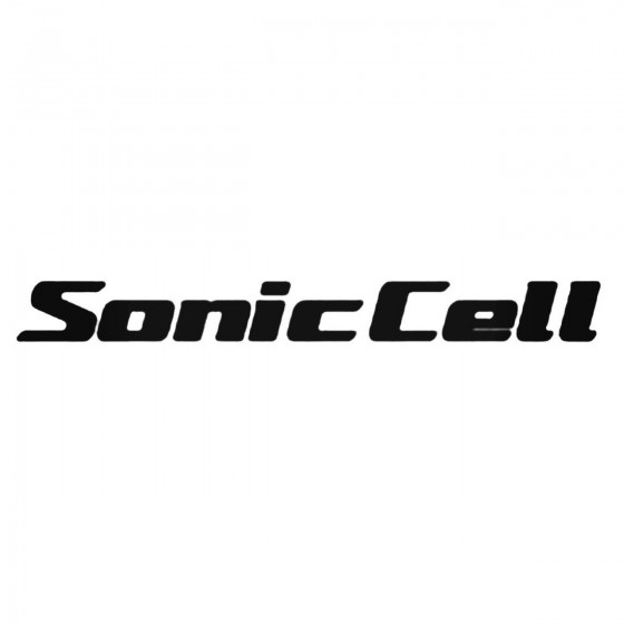 Sonic Cell Decal Sticker