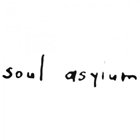Soul Asylum Band Decal Sticker