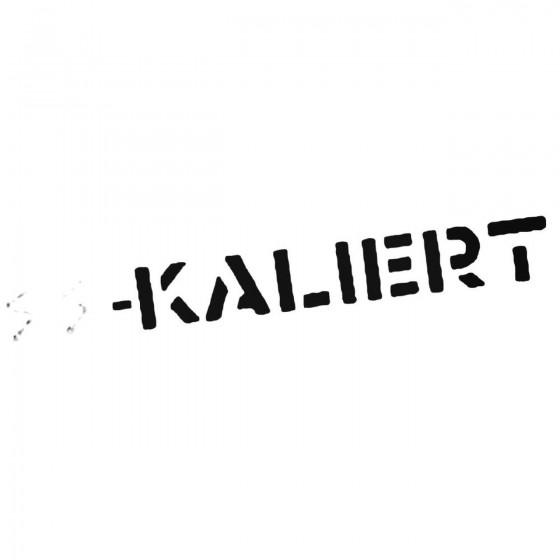 Ss Kaliert Band Decal Sticker