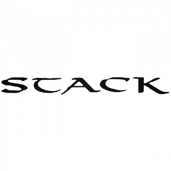 Stack Band Decal Sticker