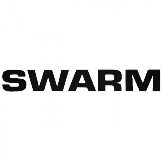 Swarm Band Decal Sticker