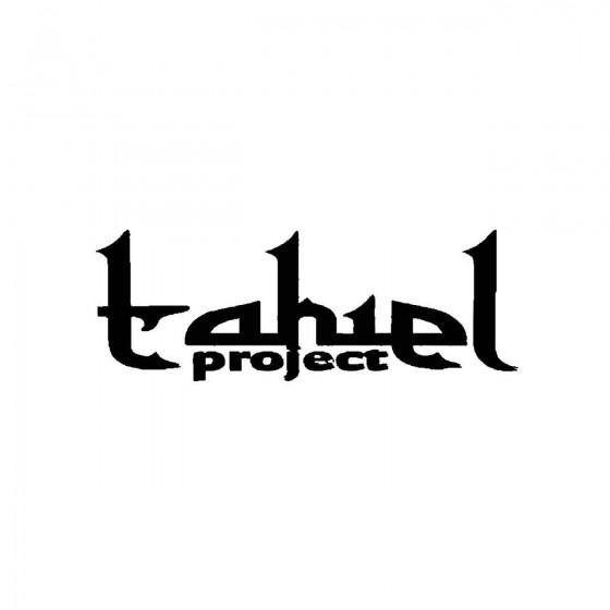 Tahiel Projectband Logo...