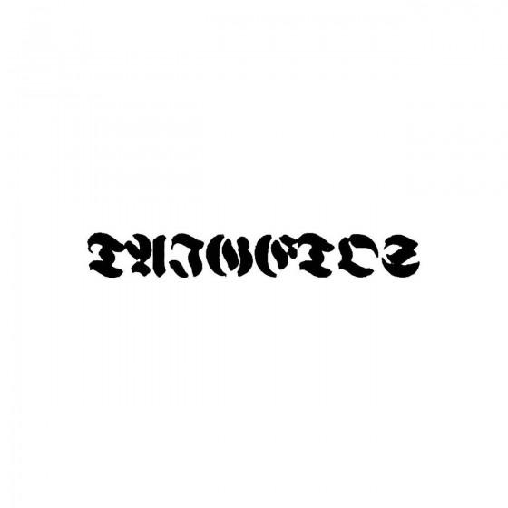 Taigetosband Logo Vinyl Decal