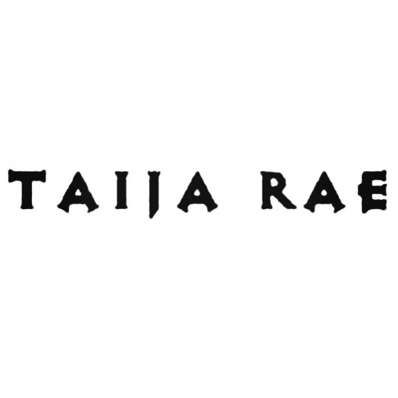 Taija Rae Band Decal Sticker
